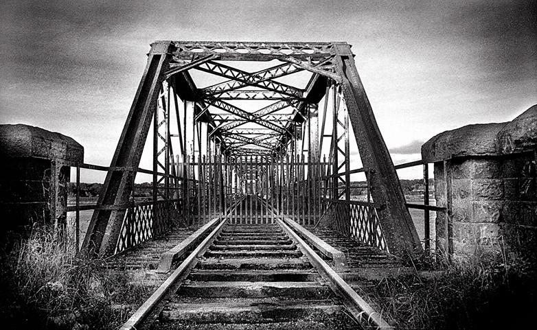 Transatlantic Bridge >> Old Red Iron Bridge, Waterford, Ireland | This abandoned rai… | Flickr