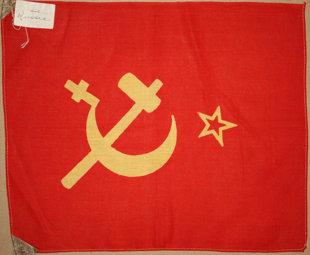 Ussr Flag Black And White Former Flag of Soviet ...
