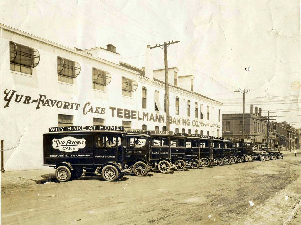 1925Tebelmann Bakery St Louis Mo Ward Electric Delivery T Flickr
