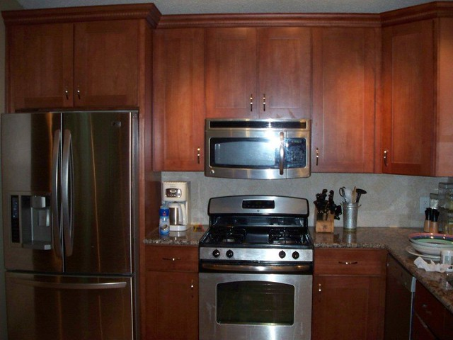 American Kitchen Corporation Refrigerator Cabinet Flickr Photo