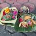 Hindu offering somewhere in Bali