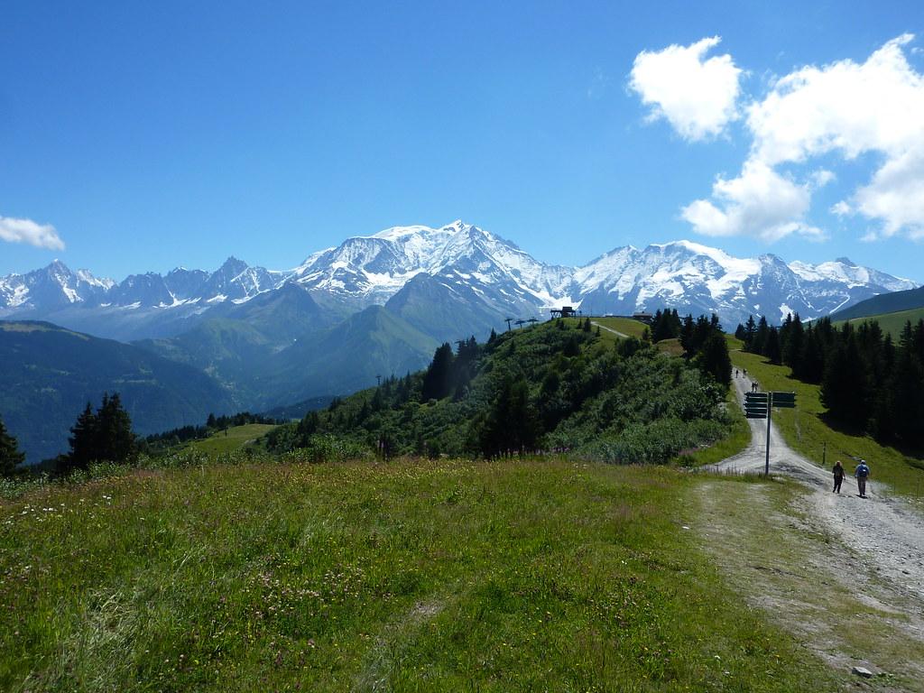 mont blanc depuis le col du mont d arbois p1020022 flickr