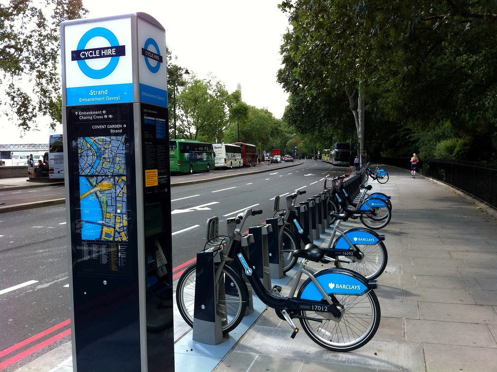 Barclays Cycle Hire  Londons new cycle hire scheme is up ...