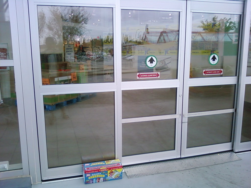 ... Automatic Doors Fail (Real Canadian Superstore)   by Huy Dang & Automatic Doors Fail (Real Canadian Superstore)   Do you seeu2026   Flickr