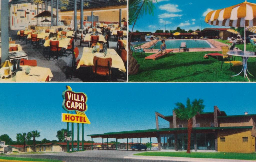 Villa Capri Motor Hotel - Austin, Texas