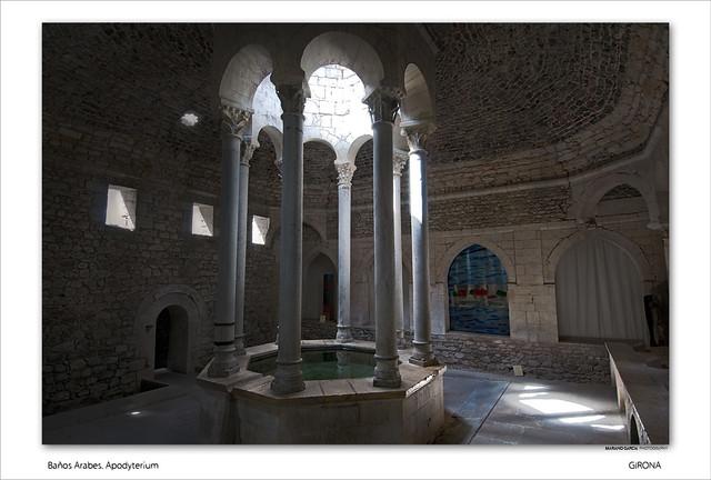 Ba os arabes apodyterium girona catalunya spain - Banos arabes de girona ...