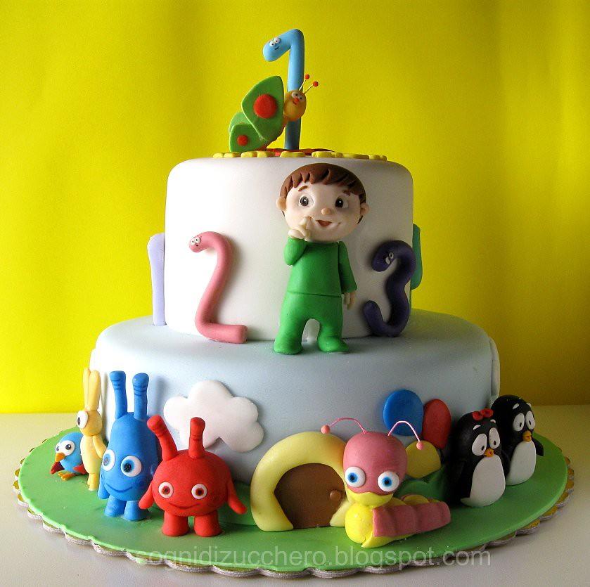 Cake Design Baby Tv : BabyTV cake Maria Letizia Bruno Flickr