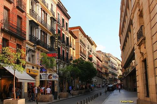 Calle carretas desde puerta del sol madrid calle for Calle sol madrid