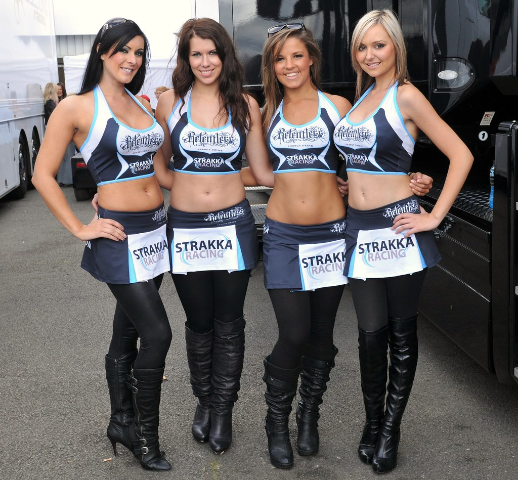Le Mans Series Silverstone 2010 Race Day Team Strakka Rele