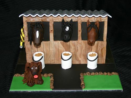 Horse Stables Cake Melanie Gardam Flickr