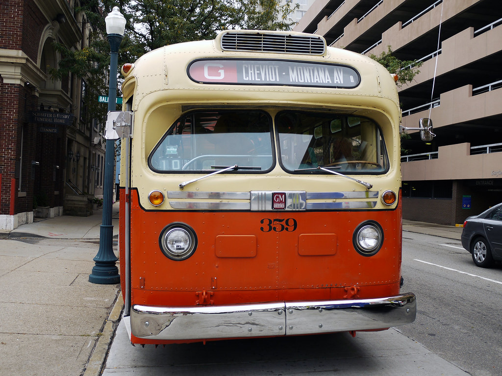GMC Old Look Transit Bus | for...