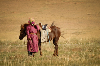Mongolian & Horse | by goingslowly