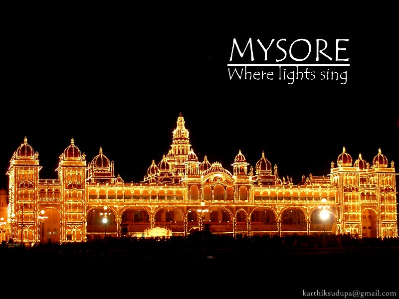 Mysore Palace, but, More Importantly: Elephant Riding ...