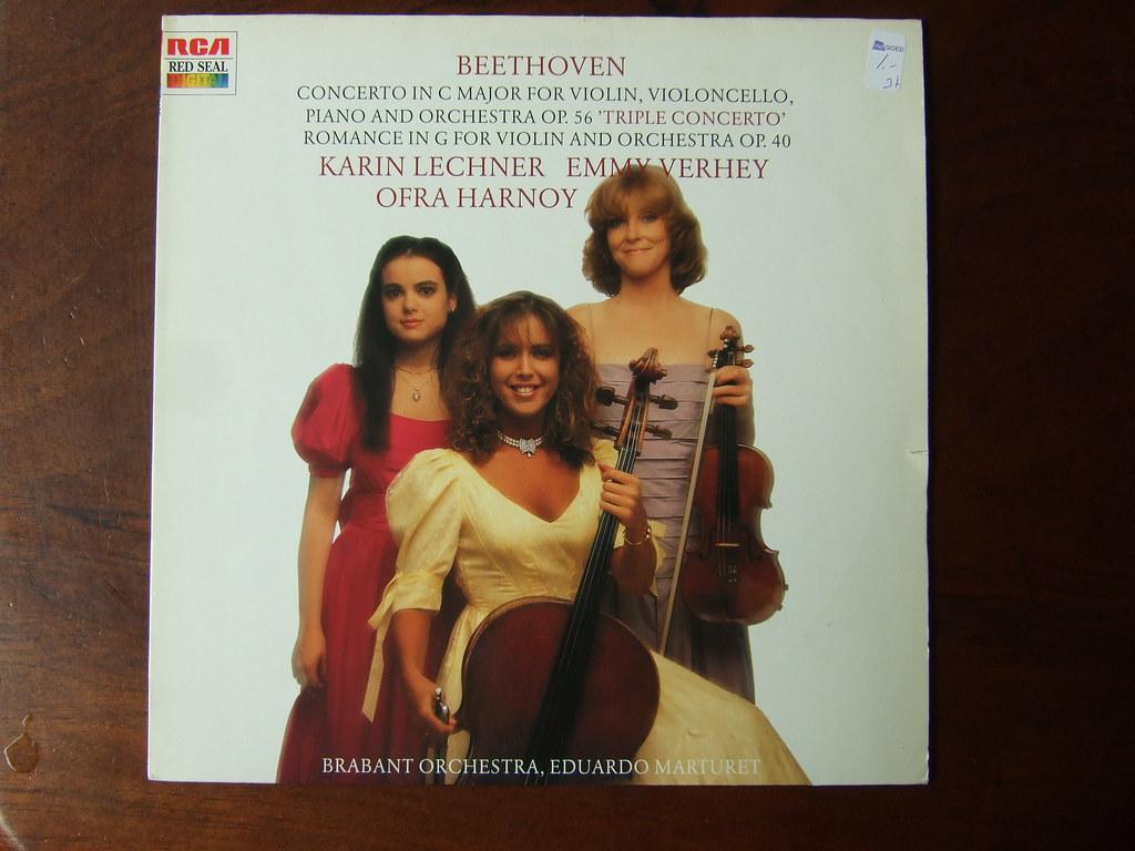 """Beethoven - """"Triple"""" Concerto op.56 & Romance op.40 - Kari ... Emmy Verhey"""