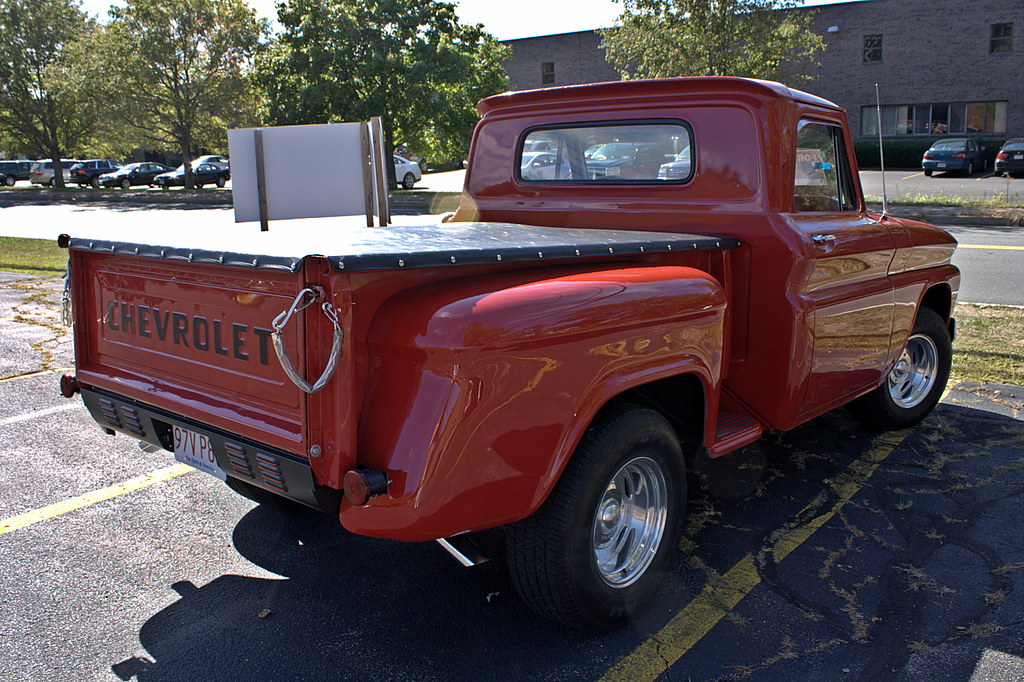 64 chevy truck found this for sale in canton massachusett flickr. Black Bedroom Furniture Sets. Home Design Ideas