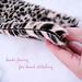 faux fur leopard scarf DIY -4-1