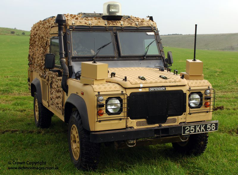 New Range Rover >> The Land Rover Snatch Vixen vehicle on show   The Land ...