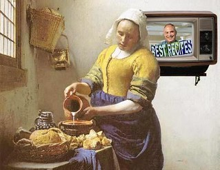 New Dairy Recipe, after Vermeer (detail) | by Mike Licht, NotionsCapital.com