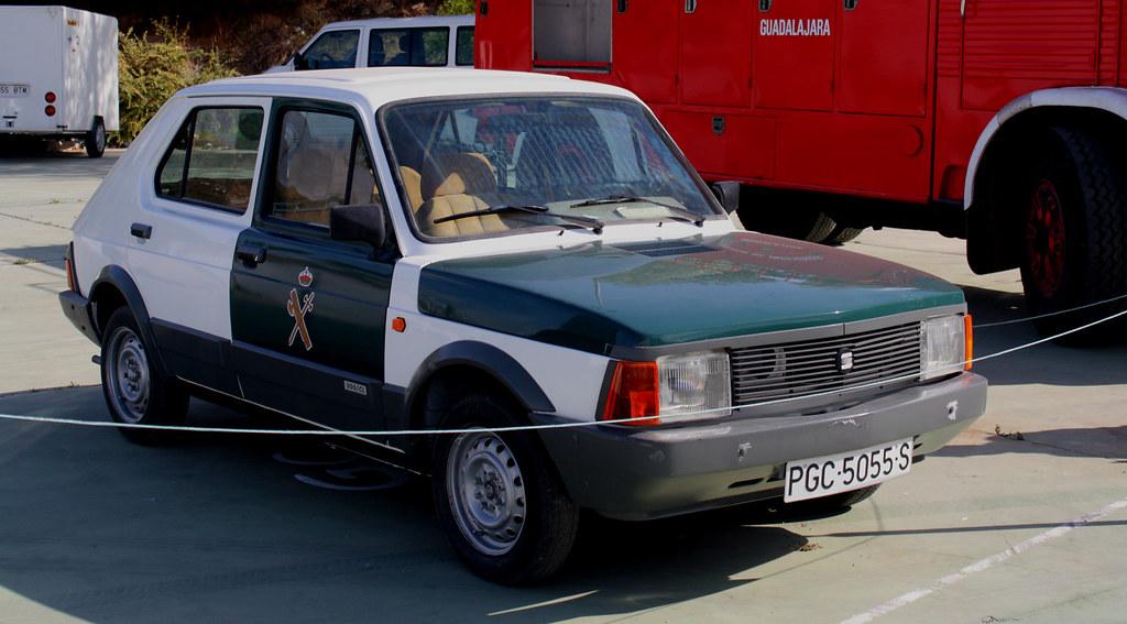 003566 - Seat Fura 127 | Seat Fura 127 de la Guardia Civil ... | 1024 x 567 jpeg 150kB