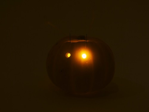 Blinky-o-lantern in the dark | by 1lenore