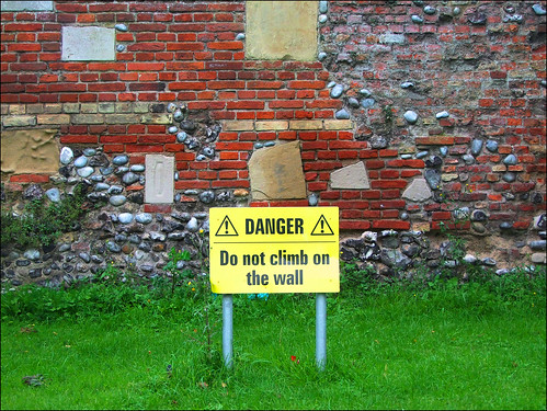 do not climb on the wall | by Simon_K
