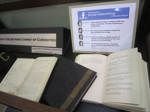 Special Collections Cabinet of Curiosities | by zsrlibrary