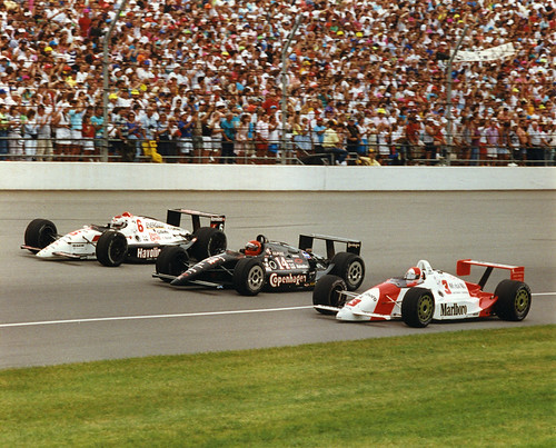 1991 front row ims historian donald davidson explains for Indianapolis motor speedway com