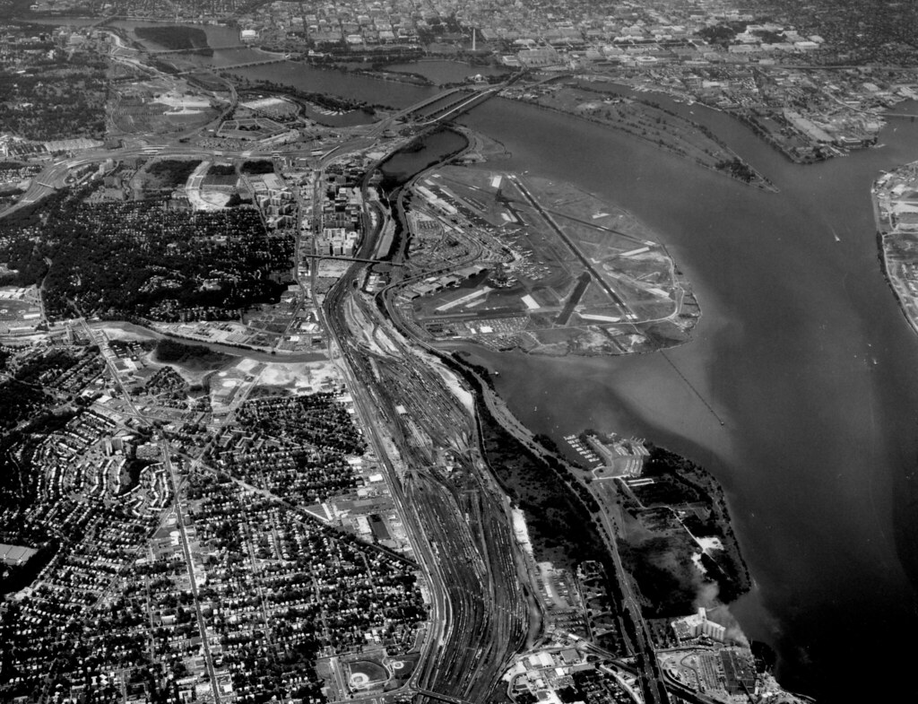 Potomac Yard June 20 1977 Historic Aerial Photograph Of