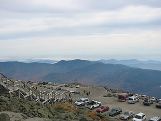 Cloudy skies but clear summit | by Mt.Washington Auto Road