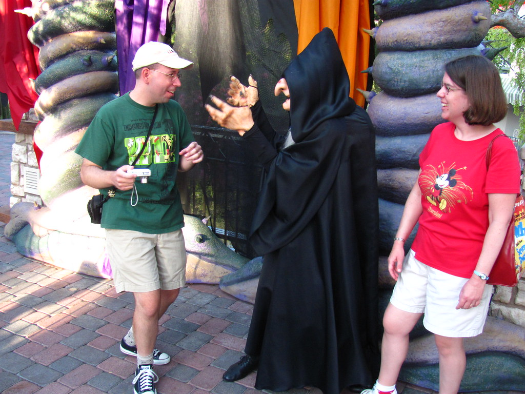 The wicked witch puts joseph under her spell at the disney flickr the wicked witch puts joseph under her spell at the disney villain meet and m4hsunfo