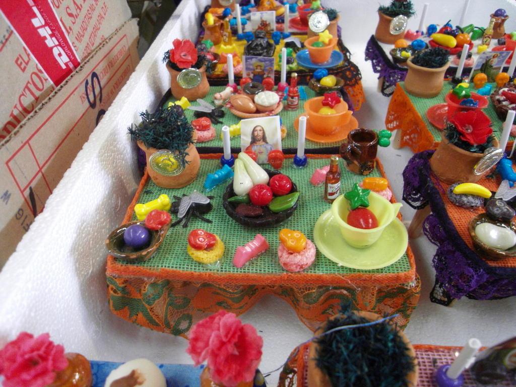 Decoracion Altar De Muertos ~ mini altares  Decoraciones para el d?a de los muertos en un