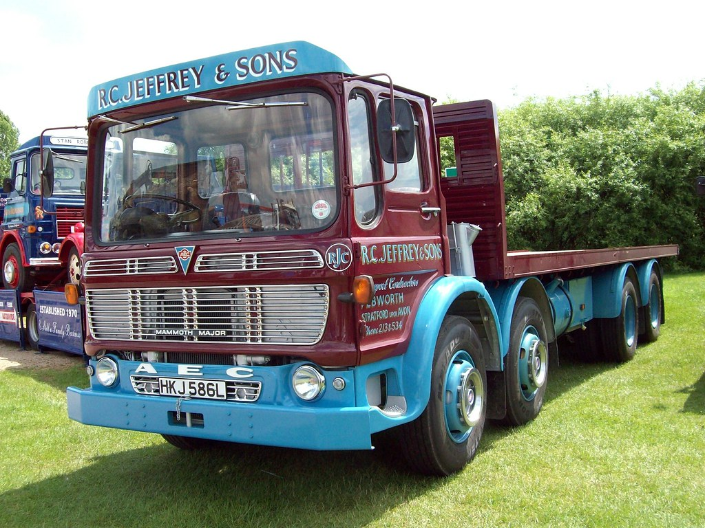 12 Leyland AEC Mammoth Major (1973) | Leyland AEC Mammoth ...