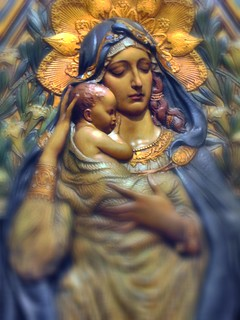 Mother Mary and Infant Jesus | by Loci Lenar