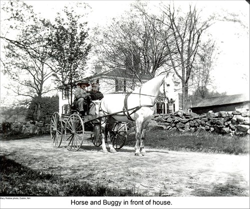 Horse and Buggy in Dublin New Hampshire | by Keene and Cheshire County (NH) Historical Photos