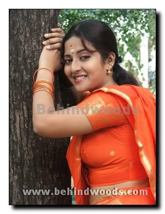 best orange saree sideview deepika deepika flickr