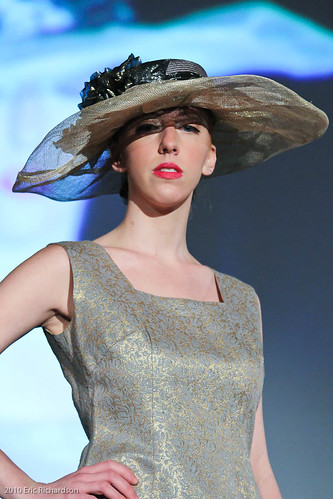 louise green millinery clever vintage clothing a model