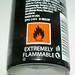 TRESemme Fresh Start Dry Shampoo Flammable