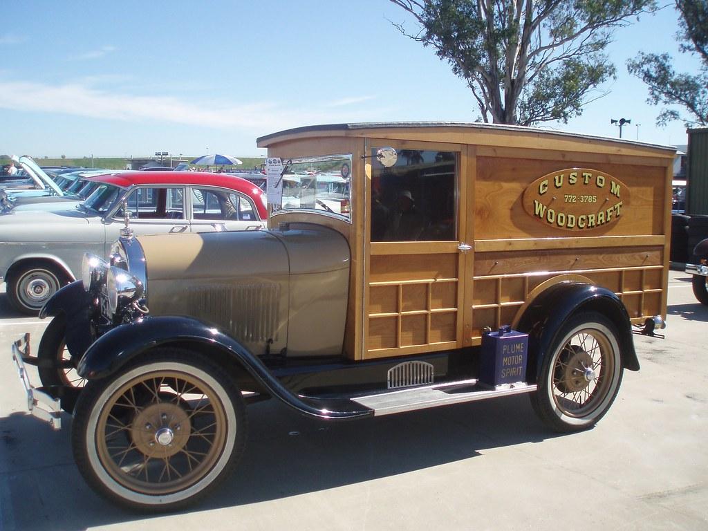 1929 Ford Model A Panel Van 1929 Ford Model A Panel Van