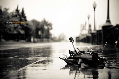 Bad Weather - A broken umbrella (Explored) | by Ziyan | Photography