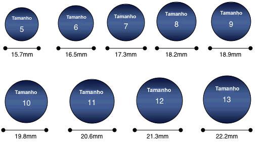 medidas aneis padrao americano s colocar um anel em ci flickr. Black Bedroom Furniture Sets. Home Design Ideas