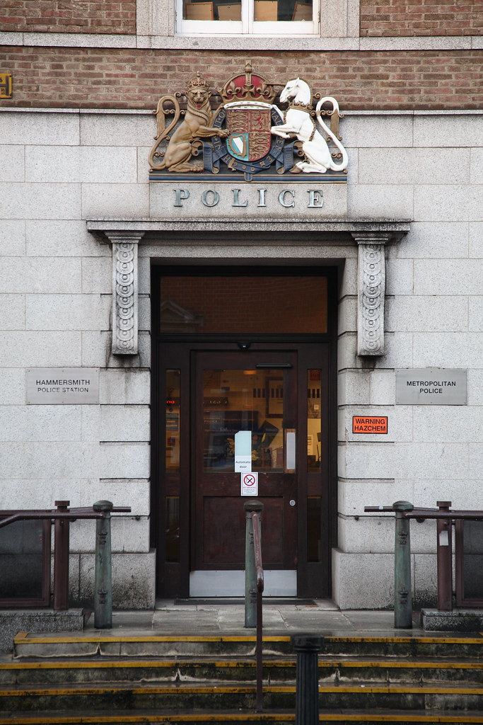 Hammersmith Police Station Report Lost Property