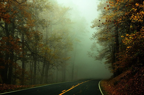 Quiet foggy day on the parkway | by Captjn
