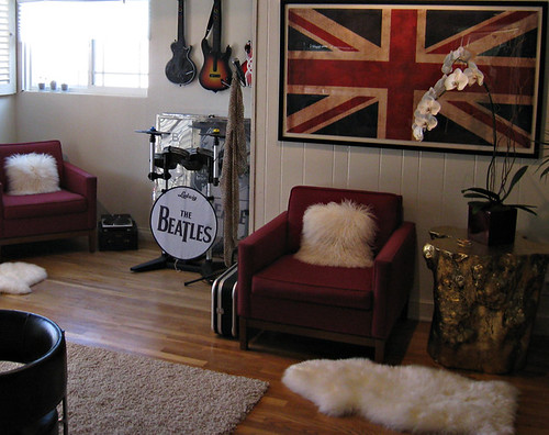 Rock Home Decor: Rock N' Roll Video Game Room+game Room Decorating Ideas