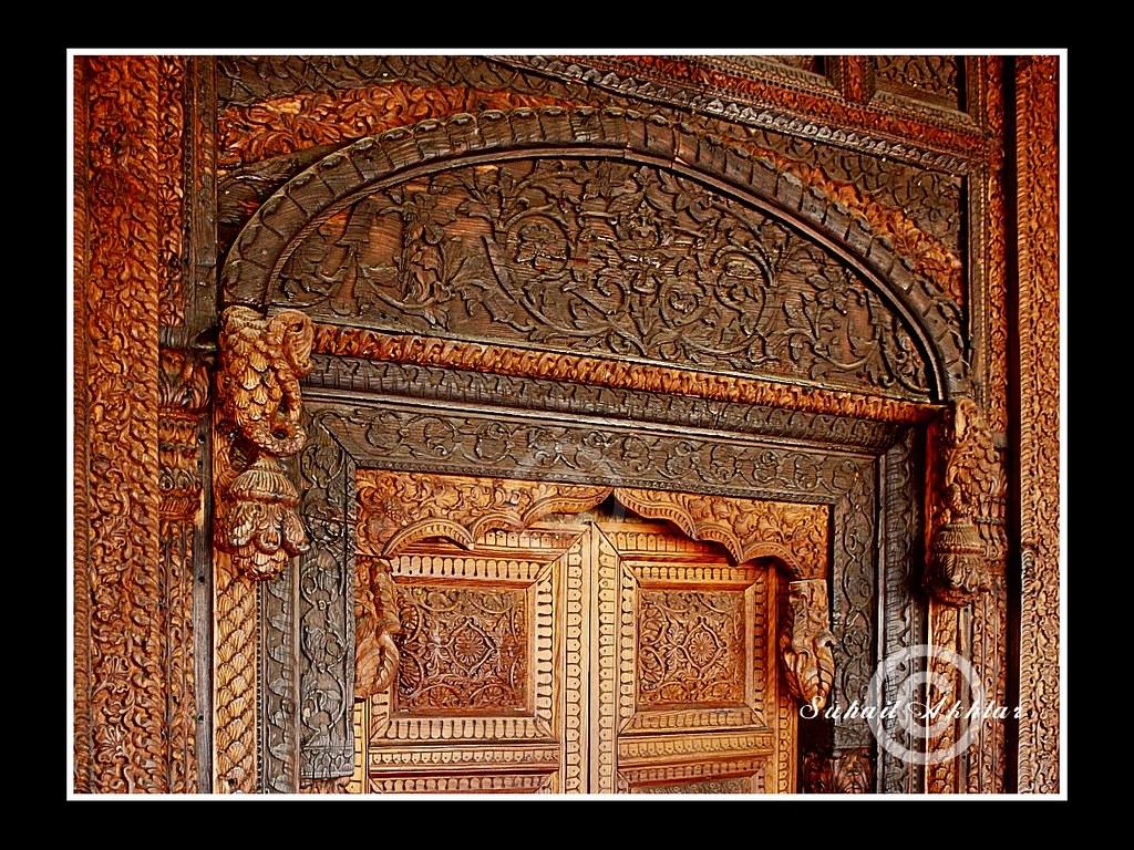 ... Door | by Suh@il & Door | Carved wooden door .... a Kashmiri Masterpiece displau2026 | Flickr