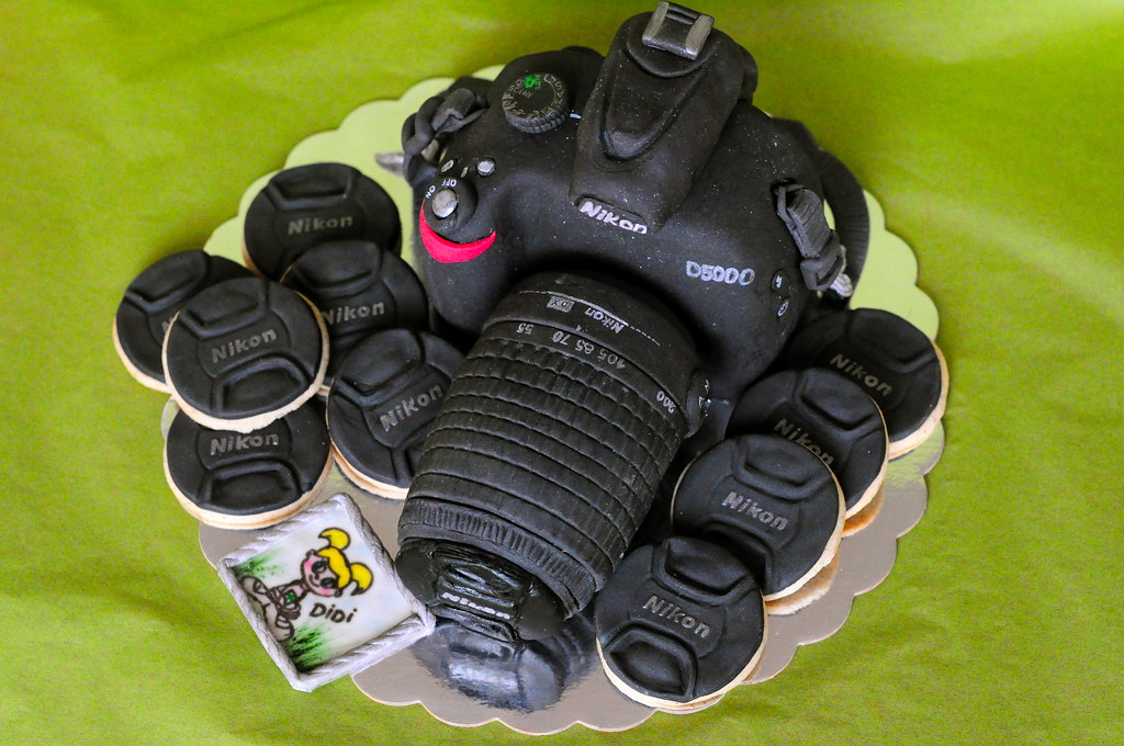 Nikon Birthday Cake
