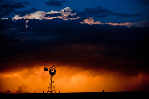 """A Night and A Storm"" Colorado~Storm~Landscape~Photography 