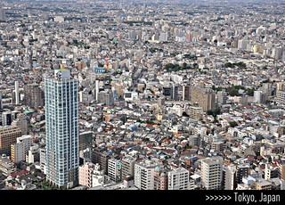 Tokyo, Japan - seen from the North Observatory 45th floor - Tokyo Metropolitan Government Building in Shinjuku. | by || UggBoy♥UggGirl || PHOTO || WORLD || TRAVEL ||