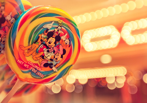 Disneyland Lollipop Bokeh | by Lisa Bettany {Mostly Lisa}