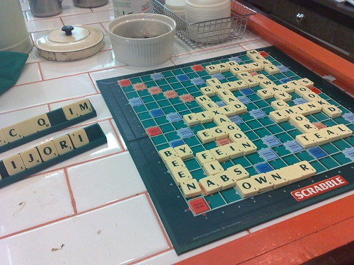 Scrabble at Elevenses | by snarkattack