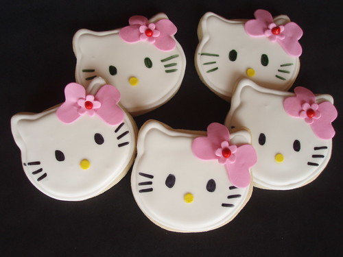 Hello Kitty Cookie Favors | by CakesUniqueByAmy.com